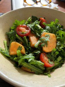 菊菜 サラダ